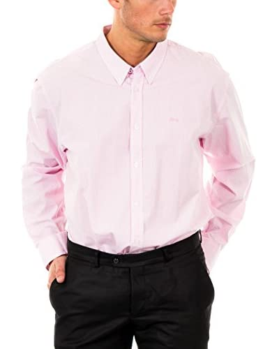 McGREGOR Camicia Uomo [Rosa Pastello/Bianco]