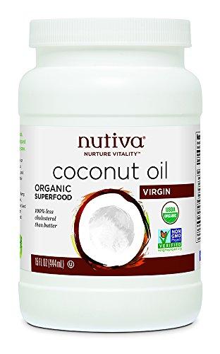 Nutiva Organic Virgin Coconut Oil, 15 Ounce
