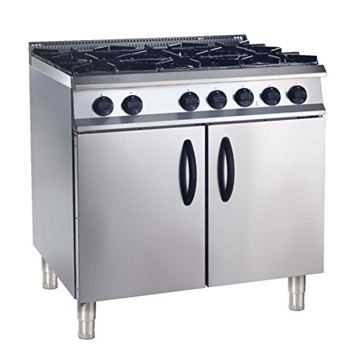 Heavy Duty Natural Gas 210Ltr Oven Range Commercial Kitchen Restaurant Cafe Chef