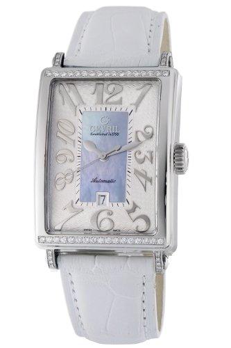 Gevril 6207NT.1 - Reloj para mujeres, correa de cuero color azul