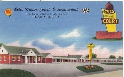 s725-belco-motor-court-restaurant-emporia-va-postcard