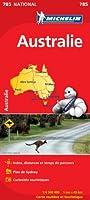 Carte NATIONAL Australie