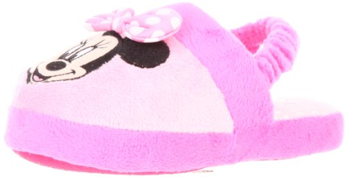 Cheap Disney 0MNF210 Minnie Mouse Slipper (Toddler/Little Kid) (0MNF210 – K)