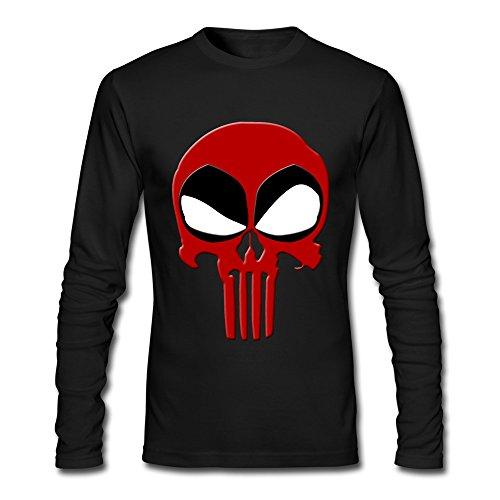 Rose Memery Deadpool Maglietta a maniche corte con icona, da uomo nero XXL