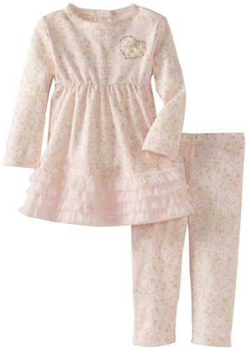 Save Price Biscotti Baby-Girls Infant First Love Dress and Legging, Pink, 24 Months  Review