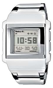 Casio BG-2000C-7ER - Reloj de cuarzo para mujer con correa de caucho, color negro