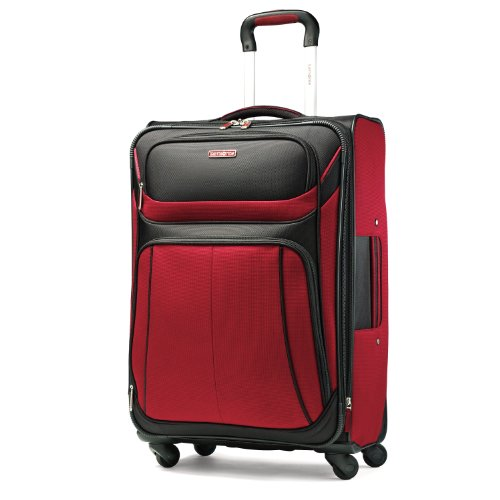 Samsonite Luggage Aspire Sport Spinner 29 Expandable Bag, Red/Black, 29 Inch top deals