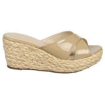 Nomad Women'S Bahama Wedge Sandal,Natural,7 M Us front-411293