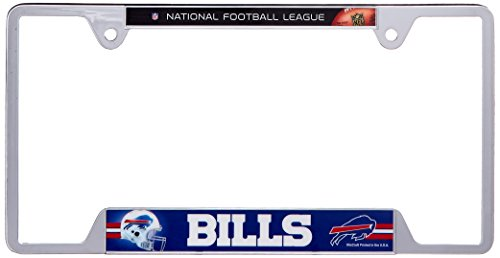 NFL Buffalo Bills Metal License Plate Frame (License Plate Frame Buffalo compare prices)