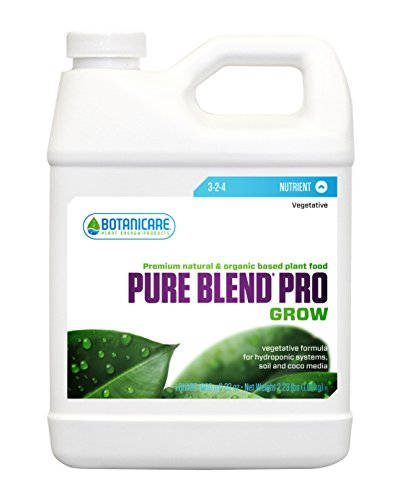 Botanicare BCPBPGQT 1-Quart Botanicare Pure Blend Pro Gro Plant Food