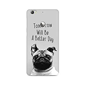 Mobicture Positive Pup Printed Phone Case for LETV 1S/LeEco 1S