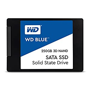 WD 内蔵SSD 2.5インチ / 250GB / WD Blue 3D / SATA3.0 / 5年保証 / WDS250G2B0A