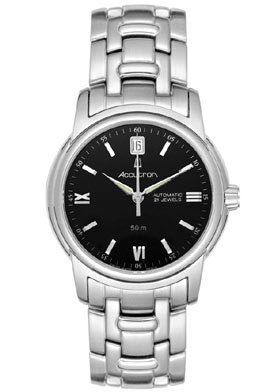 Men's Automatic Gemini Stainless Steel Black Dial