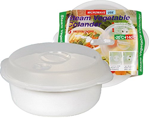 Elegant 7 Shop Steam Vegetable Colander For Microwave.