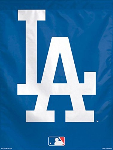 Los Angeles Dodgers LA Logo MLB 27 x 37 inch Vertical Flag