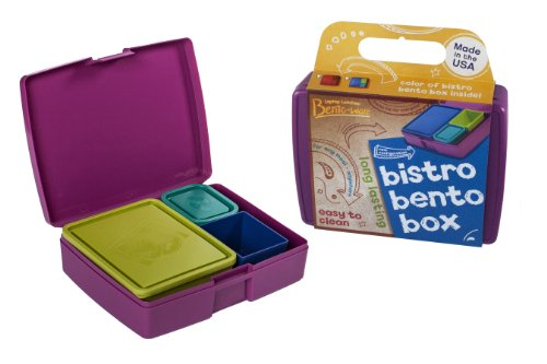 Bistro Lunch Box, Usa Made With Leak-Proof Containers, Jazz