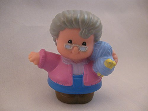 Fisher Price Little People Rare Grandparents Family Play Set, Replacement GRANDMA OOP - 1