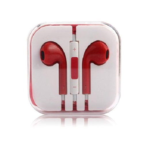 Thinkcase 3.5Mm Earphone Earbud Headphones With Remote & Mic For Iphone 4S 5 5C Ipod 18#