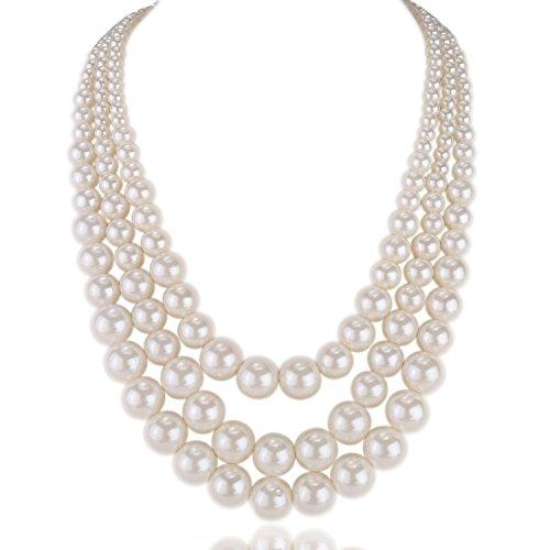 kalse-3-layers-strand-simulated-pearl-strand-bib-pendant-choker-chain-necklace-white-3-strands