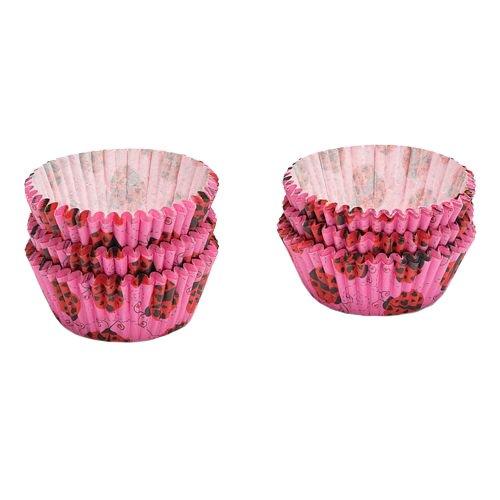 Patisse 1782 papel-cup-Cake-moldes, 200 pcs, mariquita