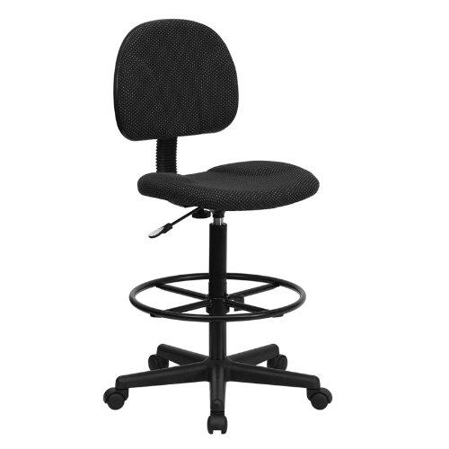 Flash Furniture BT-659-BLK-GG Black Patterned