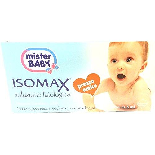 Confezione Isomax 20 fiale soluzione fisiologica 5ml
