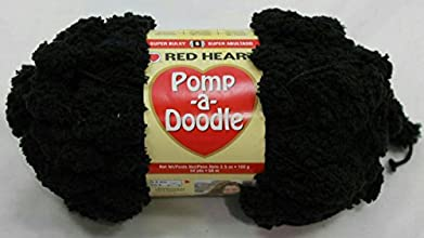 Coats amp Clark Red Heart Pomp-A-Doodle Yarn Jet