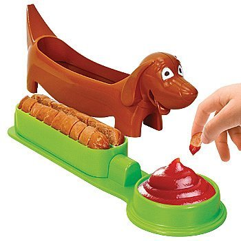 Dachshund Shaped Hot Dog Cutter: Kids Food Slicing Device (Dachshund Hot Dog Cutter Slicer compare prices)