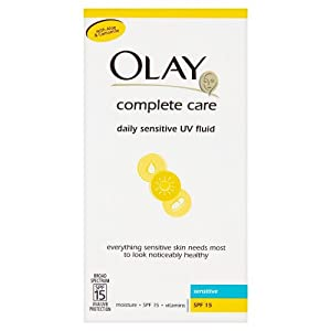 Olay Complete Care Daily Sensitive UV Fluid SPF15 - Sensitive (100ml)
