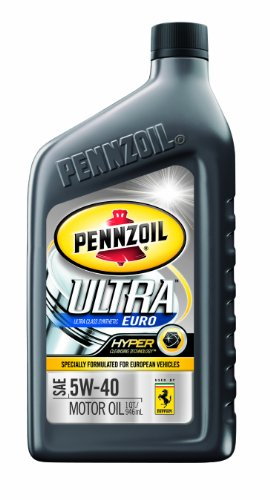 Motor oils pennzoil ultra euro synthetic 5w 40 motor oil for Pennzoil 5w 30 synthetic motor oil