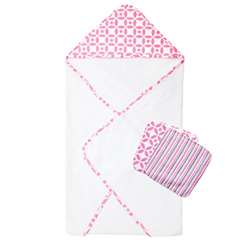 Trend Lab Lily 3 Piece Bath Bundle Box Set
