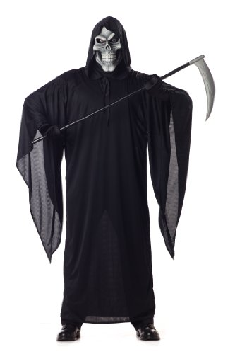 California Costumes Men's Grim Reaper Costume,Black,Large (Black Devil Costume compare prices)