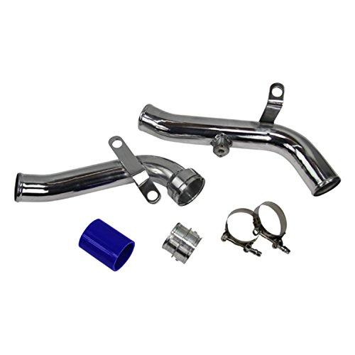 ALLOYWORKS Discharge Pipe Turbo Conversion Scirocco for Audi A3 2.0L I4 Engine 2009-2012 ; Volkswagen VW / CC / Eos / GTI / Jetta / Tiguan 2.0L I4 Engine 2009-2012 (Mk5 Jetta Intake compare prices)