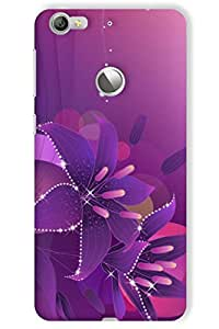 IndiaRangDe Hard Back Cover FOR LeTV (LeEco) Le 1s