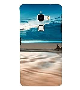 PrintVisa Travel Beach Art Design 3D Hard Polycarbonate Designer Back Case Cover for LeEco Le Max