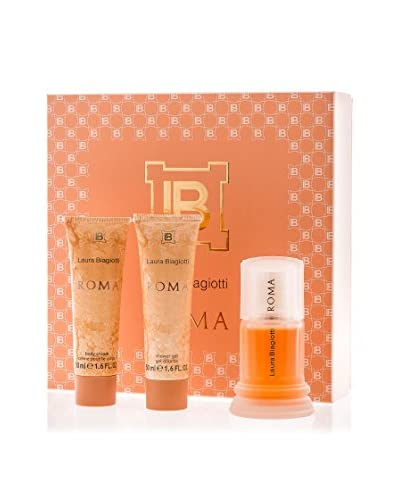 Laura Biagiotti Set Mujer Roma Eau de Toilette 50 ml + Gel Ducha 50 ml + Loción Corporal 50 ml