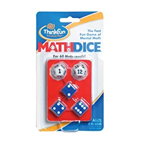 Think Fun Math Dice