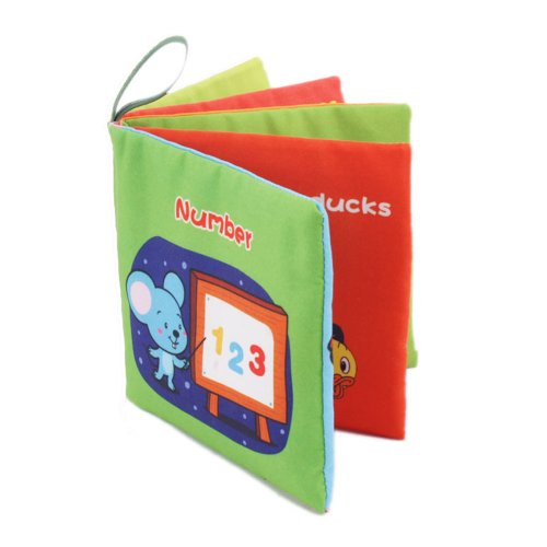 Fabric Cloth Baby Book Digit Type Object Recognization