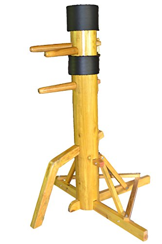 Wing Chun Wooden Dummy with SOLID Wood Body on Tripod Base