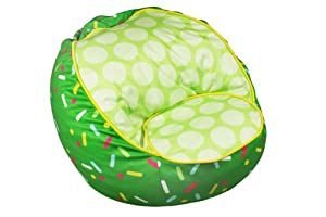 co International Kids Sprinkles Bean Bag Chair, Green from Newco Kids