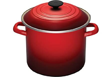 best le creuset enamel on steel 8 quart covered stockpots low price buy stock pots on low