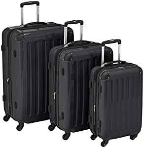 HAUPTSTADTKOFFER  Sets de bagages, 75 cm, 235 L, Noir