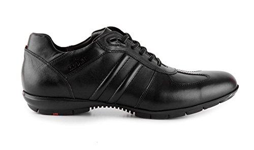 Lloyd, Sneaker uomo, Nero (schwarz-schiefer), 42.5 EU / 8.5 UK