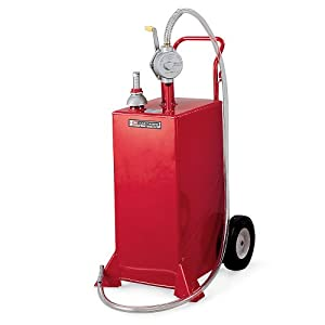 All-Welded Steel Gas/Diesel Caddy - 30-Gallon Capacity: Material