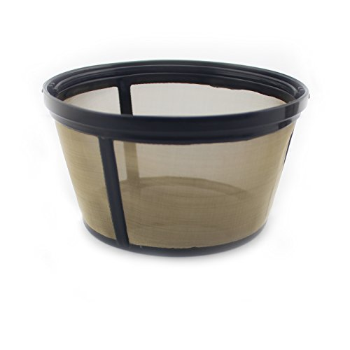 BetterMM 4-Cup Basket Style Permanent Coffee Filter fits Mr. Coffee 4 Cup Coffeemakers (With Handle)