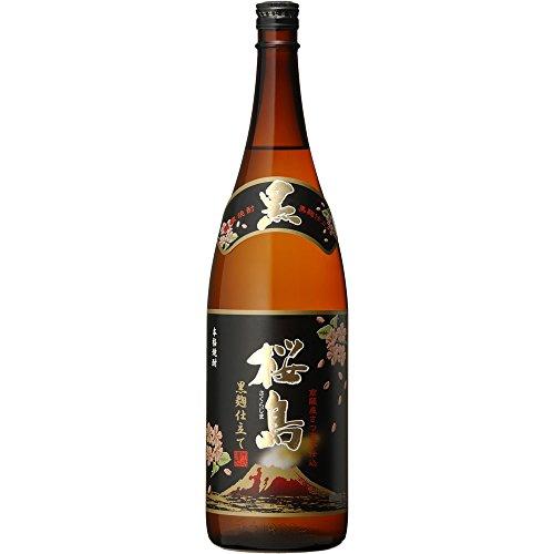 本坊酒造 黒麹仕立て桜島 1800ml
