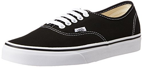 Vans Unisex Authentic Black Sneakers - 6 UK/India (39 EU)