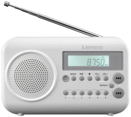 Lenco MPR 033 Radio/Radio-réveil MP3 Port USB