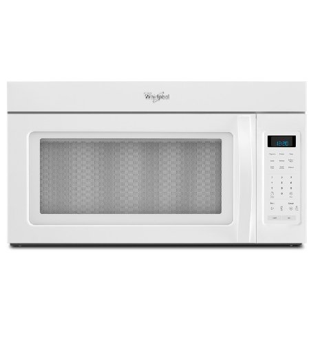 Great Features Of Whirlpool WMH31017AW 1.7 Cu. Ft. White Over-the-Range Microwave