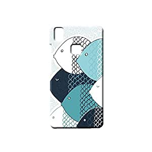 BLUEDIO Designer Printed Back case cover for VIVO V3 - G3471